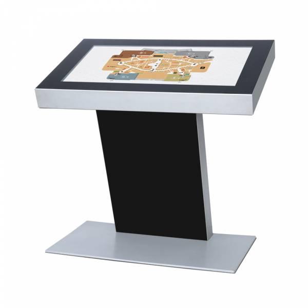 "Digital kiosk 50 "", RAL9005 black, with monitor"