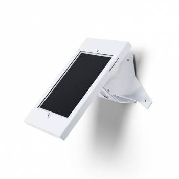 Slimcase Angled Wall mounted Tablet Enclosure White