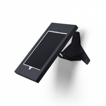 Slimcase Angled Wall mounted Tablet Enclosure Black