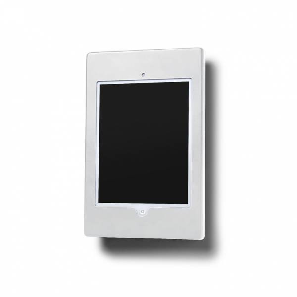 Slimcase Wall Fixed Tablet Enclosure Flat White