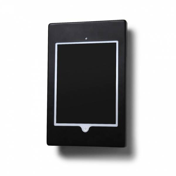 iPad Enclosure Wall Flat Silver