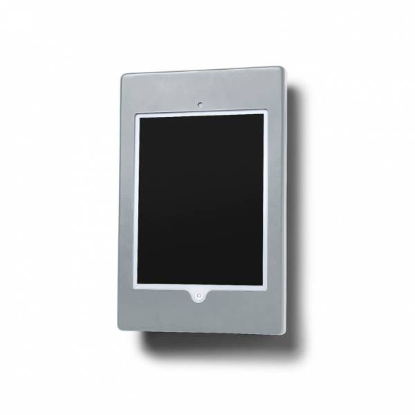 iPad enclosure - Wall Flat - Silver, Black, White for Ipad 3,4 & Air