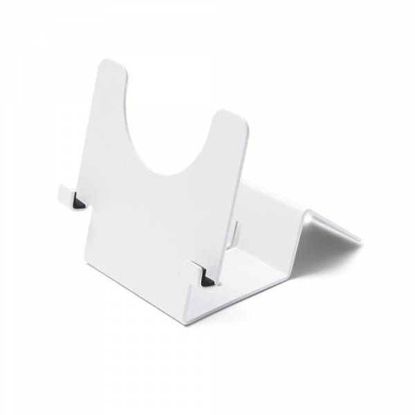 Lockable Tablet Stand in white