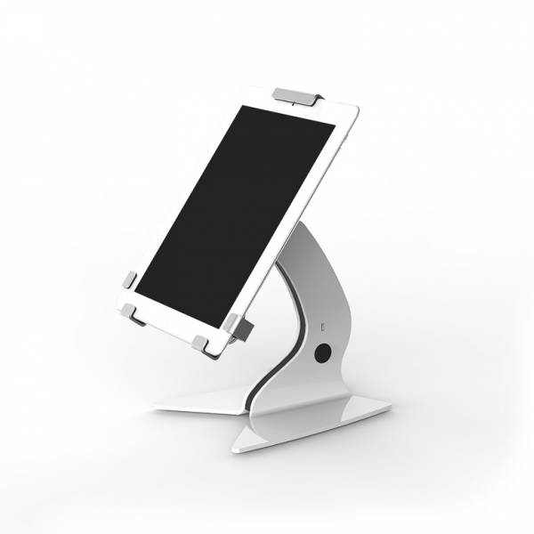Trigrip Tablet Holder Counter in white 7""