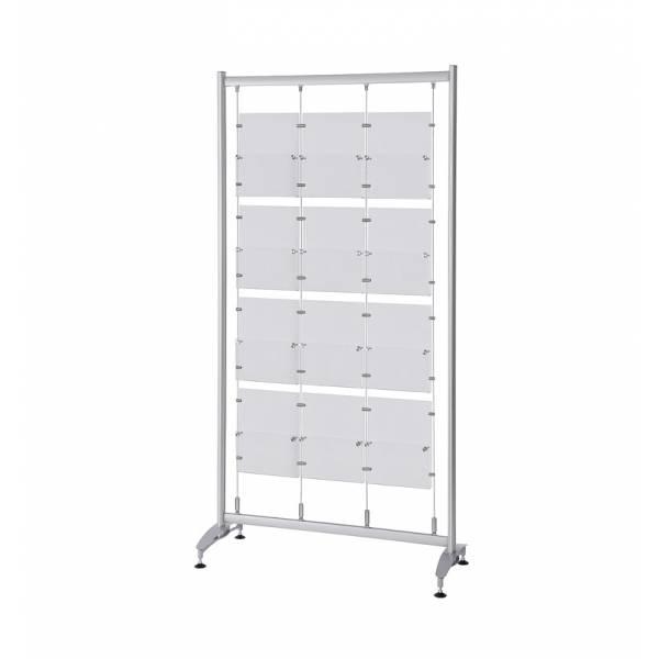 Elypse Freestanding Leaflet Display Stand