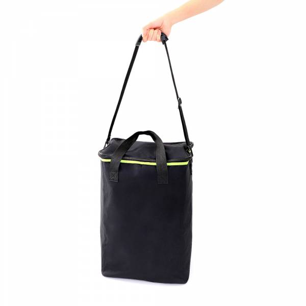 Literature Stand - Foldable - Black Bag