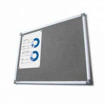 SCRITTO® Fabric Board Grey 100x150