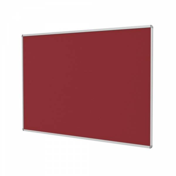 Fire Rated Pin Board - Red (1200x1200)
