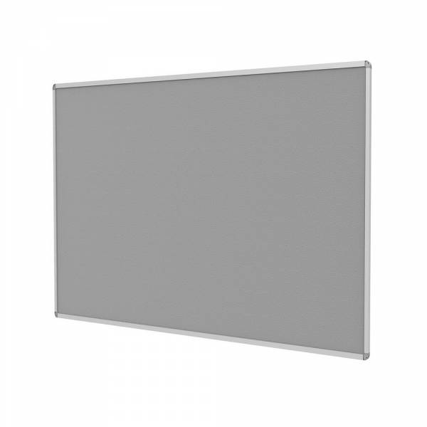 Fire Rated Fabric Pin Board - Grey