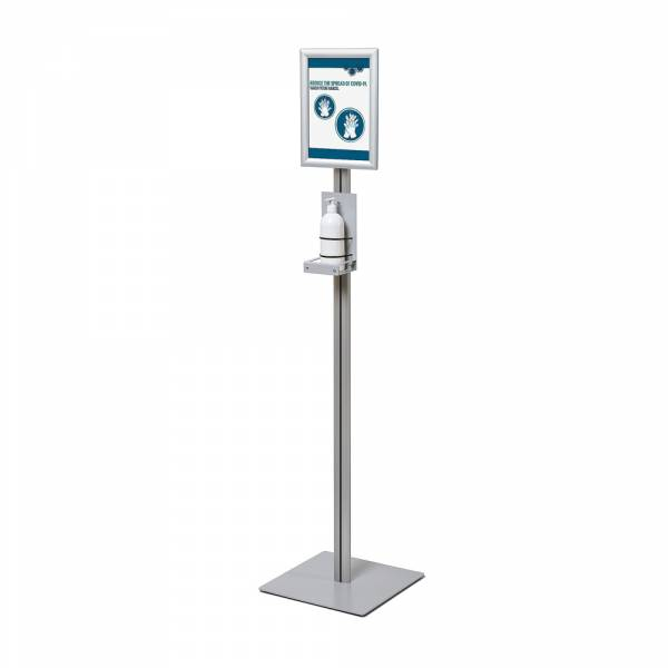 Hand sanitizer CLASSIC with snap-frame KRA4G25