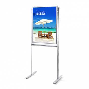Infoboard 70x100 25mm mitred double sided