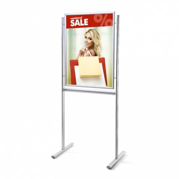 Infoboard 70x100 25mm mitred single sided