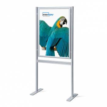 Infoboard 70x100 37mm mitred double sided