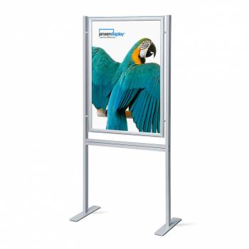 Infoboard 70x100 37mm mitred single sided