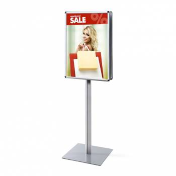 Info Pole A1 25mm Rondo corners double sided
