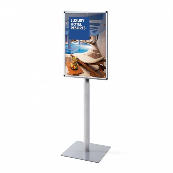 Info Pole Standard Poster Stand
