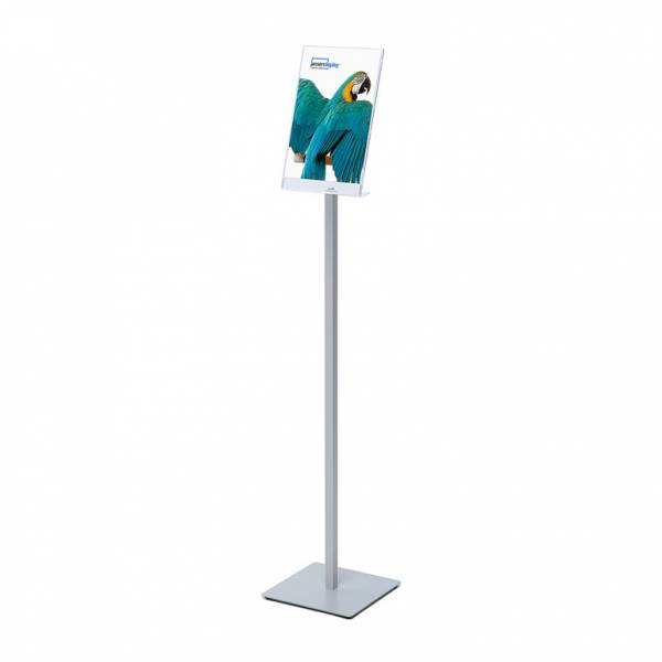 A4 Info Post Floor Stand