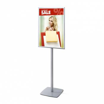Info Pole with 25mm Snap Frame, Mitred Corner, A1