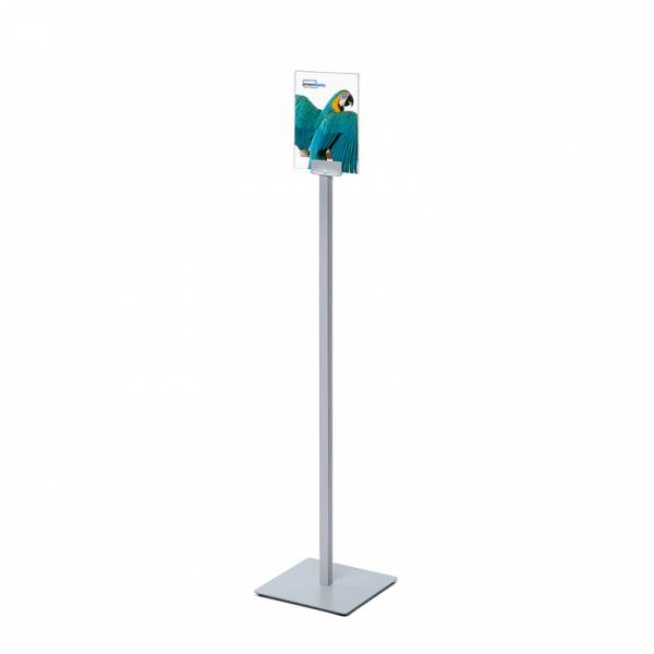 Info Pole with A5 Plexiglass frame