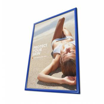 25mm Snap Frame, Mitred Corners, 50x70, Blue