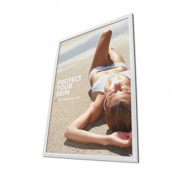Snap Frame 50x70 White