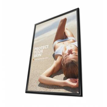 25mm Snap Frame, Mitred Corners, 70x100, Black