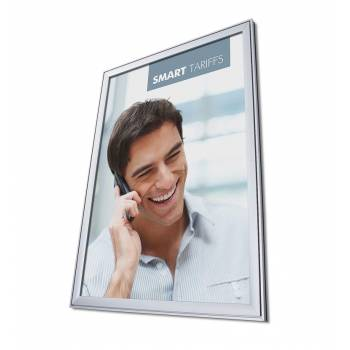 Design Snap Frame 37mm COMPASSO® Weather Resistant, Mitred Corner, A0
