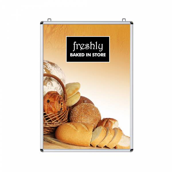 Snap Frame 70x100 - Double-Sided - Rounded Corners