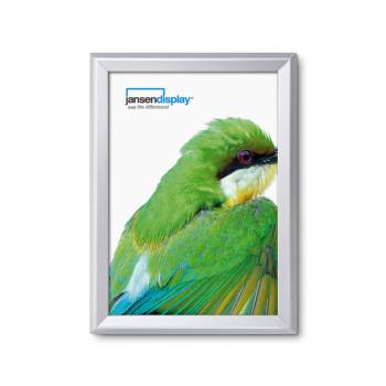 Class 1 Fire Rated Snap Frame - 32mm Silver Anodised profile