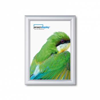 Class 1 Fire Rated Snap Frame - 25mm Silver Anodised profile