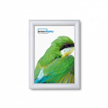 20mm Silver Clip Frame - Mitred Corner