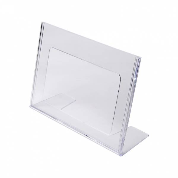 A5 Landscape Leaflet Holder - Menu Stand - Injection moulded