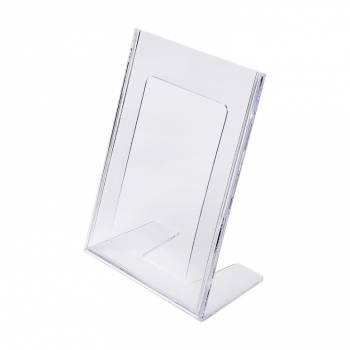 A5 Portrait Leaflet Holder - Menu Stand - Injection moulded