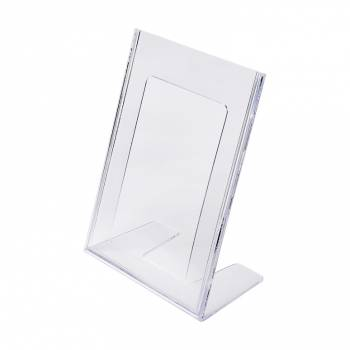 A5 Portrait Leaflet Holder - Menu Stand - Injection moulded