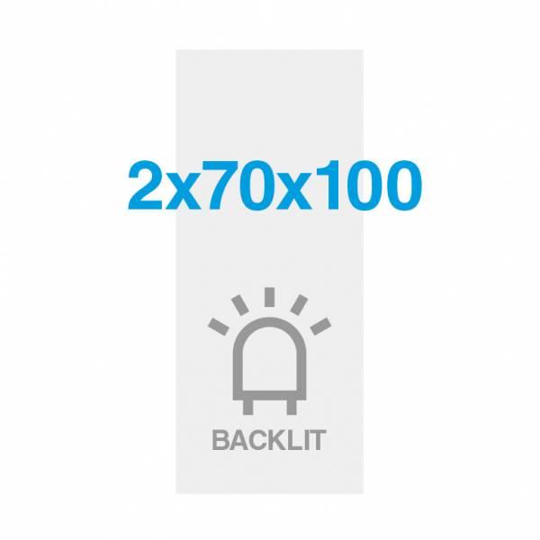 Premium backlit film 200g/m2, satin surface, 700x2000mm