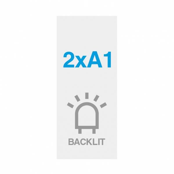 Premium backlit film 200g/m2, satin surface, 594x1682mm