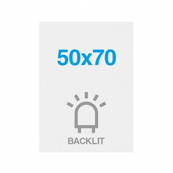 Premium backlit film 200g/m2, satin surface, 500x700mm