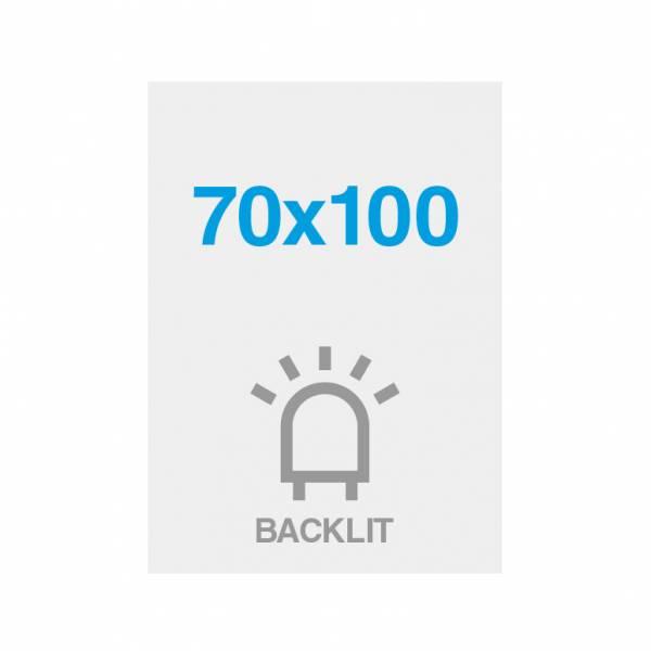 Premium backlit film 200g/m2, satin surface, 700x1000mm