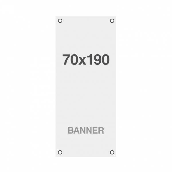 Symbio Banner with holes, 510g/m2, 700x1900mm