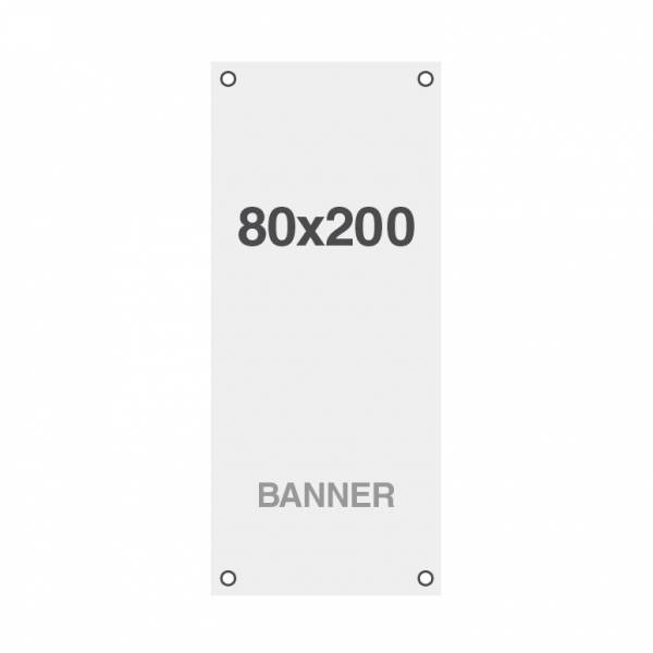 Smbio Banner with holes, 510g/m2, 800x2000mm