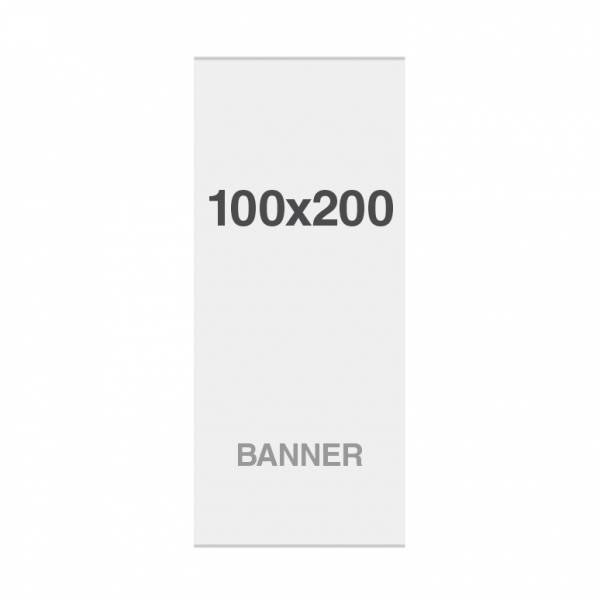 No Curl banner with magnetic strips, 220g/m2, 1000x2000mm