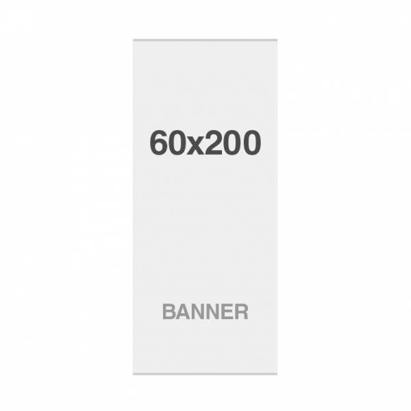 No Curl banner with magnetic strips, 220g/m2, 600x2000mm