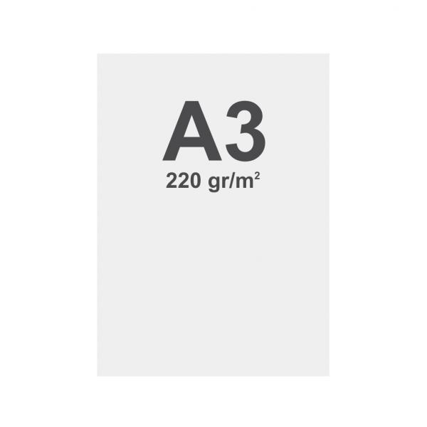 Latex No curl media A3 matt, 220 g m2