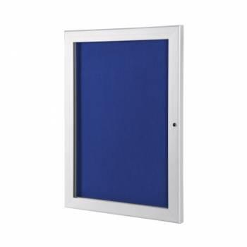 Outdoor Economy Felt Notice Board with Blue felt pinboards, A4