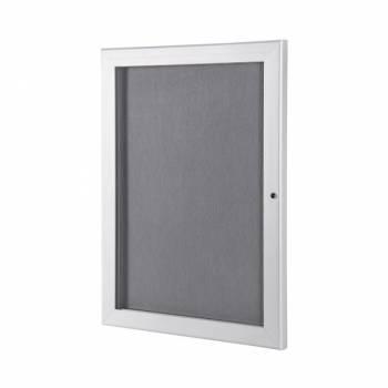 Outdoor Economy Felt Notice Board with Grey felt pinboards, A4