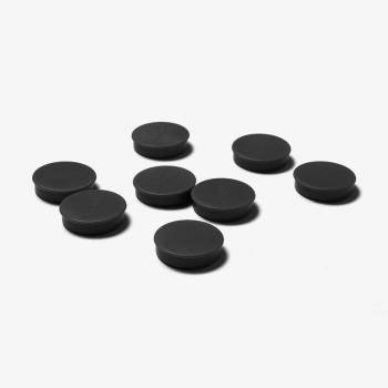 35mm Black Magnets