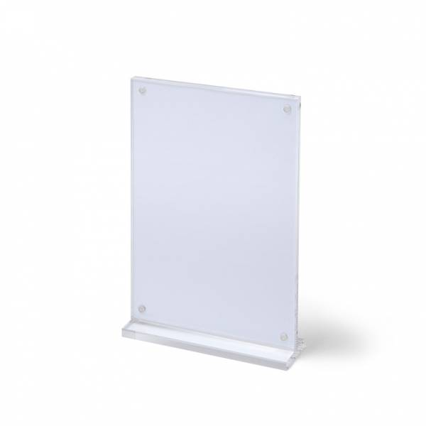 Magnetic Acrylic Ticket Stand with Base