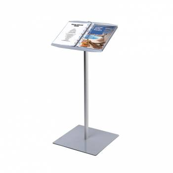 A4 Ringbinder Brochure Stand for individual A4 portrait punched pages