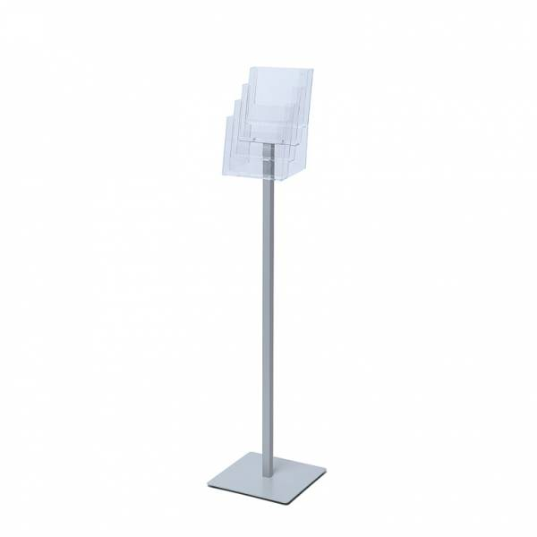 Premium A5 flyer stand, 4 profile pocket
