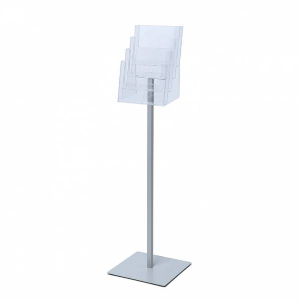Premium A4 flyer stand, 4 profile pocket